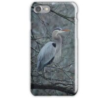 Blue Heron in a Tree iPhone Case/Skin