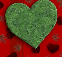 I Heart Weed by TinaGraphics