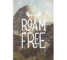 ROAM FREE Photographic Print
