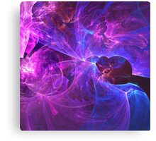 The Ether Of Spiritual Energy Among Beings in Love and Enlightenment | Fractal Starscape Canvas Print