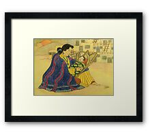 Precious Bundle Framed Print