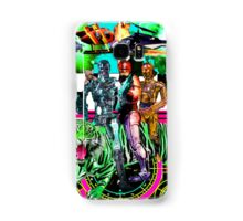 Robots Ride A Tiger Samsung Galaxy Case/Skin