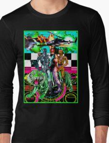 Robots Ride A Tiger Long Sleeve T-Shirt