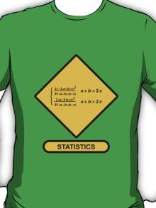 Sign Triangular Distribution Statistics T-Shirt