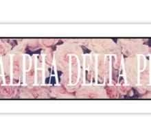 Alpha Delta Pi - Delta Kappa Sticker