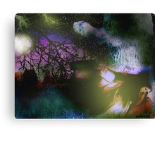 Firefly Moon Canvas Print