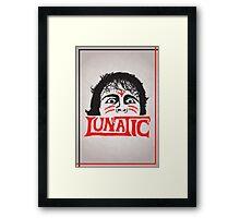 """""""The Lunatic"""" Wrestling Design Framed Print"""