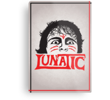 """The Lunatic"" Wrestling Design Metal Print"