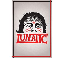 """The Lunatic"" Wrestling Design Photographic Print"