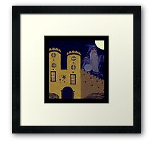 ~ The Wizard ~ Framed Print