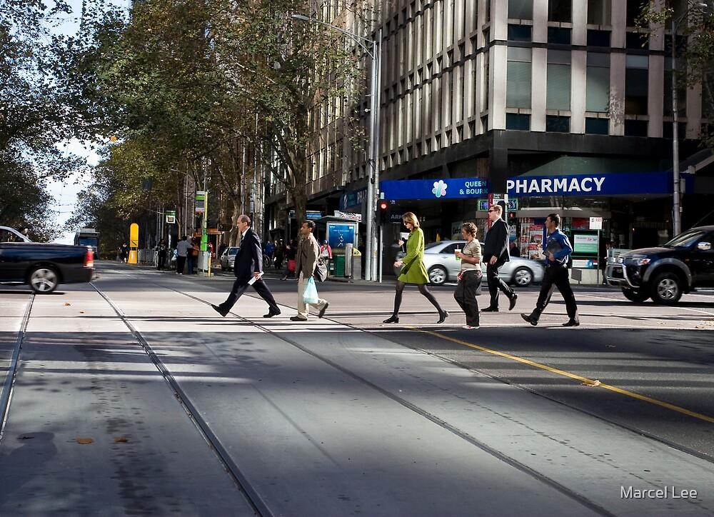 Melbourne, CBD 01 by Marcel Lee