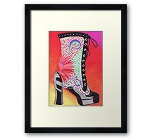 Groovy Movers! Framed Print