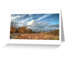 Dunes in Living Color Greeting Card