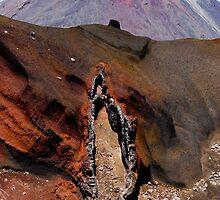 Mount Tongariro by Bassam  Shmordok