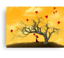 'You and me' Canvas Print