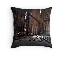 Walls, Light and Timber Throw Pillow