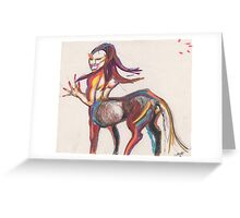 Raw passion Greeting Card
