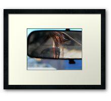 Rearview Framed Print