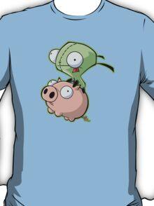 Gir riding his Pig T-Shirt