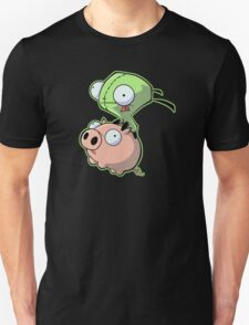 Gir riding his Pig T-Shirt
