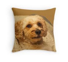 Sir Willis Barkalot Throw Pillow