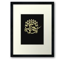 Raptors OVO Framed Print