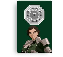 The Legend of Korra Kuvira Earth Empire Canvas Print