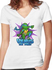 Venus De Milo Women's Fitted V-Neck T-Shirt