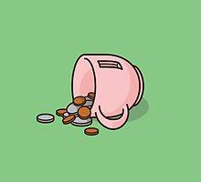 Ham the Piggy Mug by jacobparr