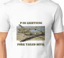 P-38 Forked Tail Devil Unisex T-Shirt