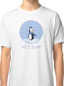 Let It Snow! (Penguin) Classic T-Shirt