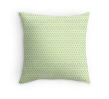 Mint Arrows Throw Pillow
