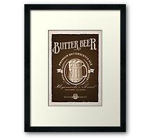 A Vintage Brew Framed Print