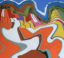 Tulip Feld Tsunami by Richard Klekociuk