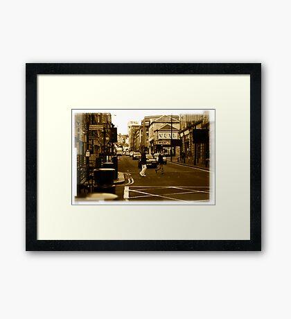 Crossing Framed Print