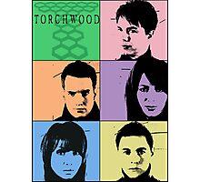 Torchwood Pop Art Photographic Print