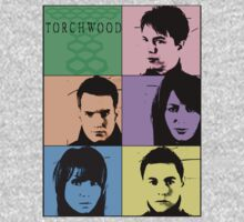 Torchwood Pop Art T-Shirt