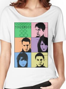Torchwood Pop Art Women's Relaxed Fit T-Shirt