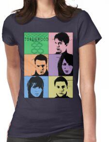 Torchwood Pop Art Womens Fitted T-Shirt