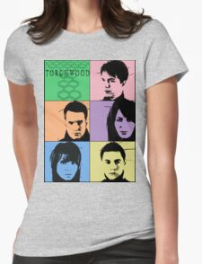 Torchwood Pop Art Womens Fitted T-Shirt