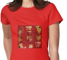 Red-Quake! Womens Fitted T-Shirt