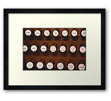 Music peanuts Framed Print