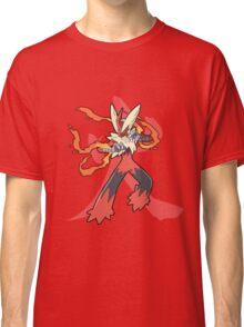 Blaziken With Fire Kanji Classic T-Shirt
