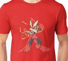 Blaziken With Fire Kanji Unisex T-Shirt