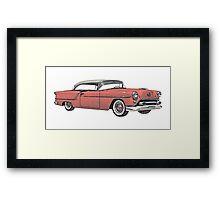 1954 Oldsmobile 88 Holiday Coupe Framed Print
