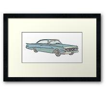 1960 Ford Edsel classic car Framed Print