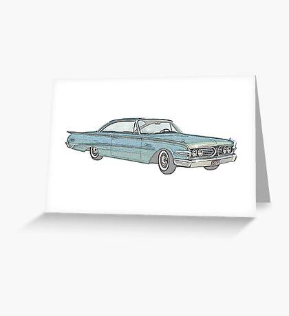 1960 Ford Edsel classic car Greeting Card