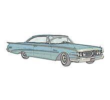 1960 Ford Edsel classic car Photographic Print