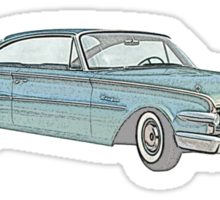 1960 Ford Edsel classic car Sticker