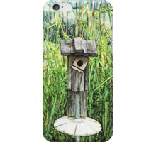 Birdhouse in the Swamp iPhone Case/Skin
